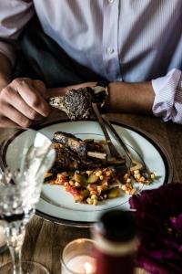 Ratatouille with parmigiano-reggiano